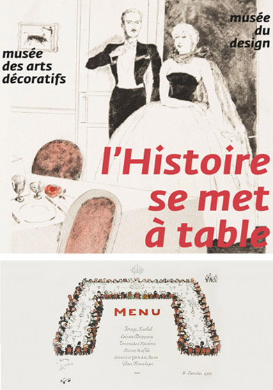 La table par le menu